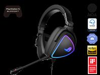 ASUS, ROG, Delta, S, Lightweight, USB-C, Gaming, Headset, with, AI, noise-canceling, mic, MQA, rendering, technology, RGB, lighting, P,