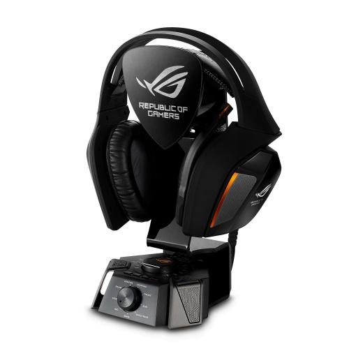 ASUS, ROG, 7.1, (ROG, Centurion), gaming, headset, True7.1, Noise-cancelling, digital, microphone, Hi-Fi, grade, ESS, headphone, amplif,