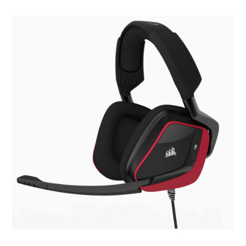 Corsair, VOID, PRO, RED, Wired, Surround, Premium, Gaming, Headset, with, Dolby®, Headphone, 7.1, (LS),