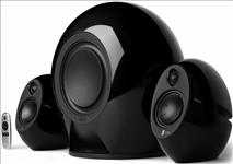 Edifier, E235, Luna, E, 2.1, Home, Entertainment/Gaming, System, Bluetooth, Speaker, BLACK, -, BT/3.5mm/Optical, 5.8G, Wireless, Subwoo,