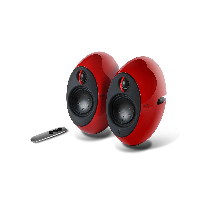 Edifier, Luna, Eclipse, E25, Bluetooth, Speakers, -, Red,