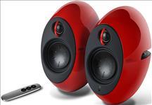 Edifier, E25HD, LUNA, HD, Bluetooth, Speakers, Red, -, BT, 4.0/3.5mm, AUX/Optical, DSP/, 74W, Speakers/, Curved, design/Dual, 2x3, Passiv,