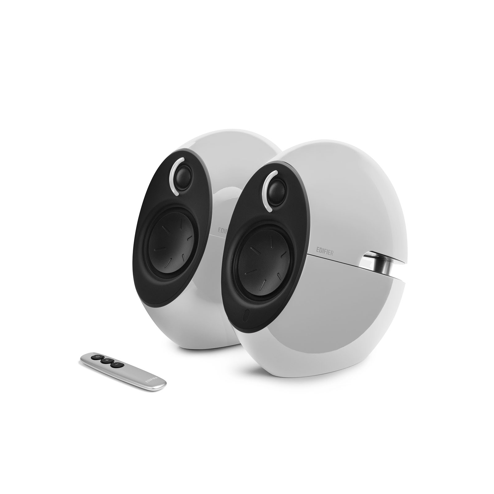 Edifier, E25HD, LUNA, HD, Bluetooth, Speakers, White, -, BT, 4.0/3.5mm, AUX/Optical, DSP/, 74W, Speakers/, Curved, design/Dual, 2x3, Pass,