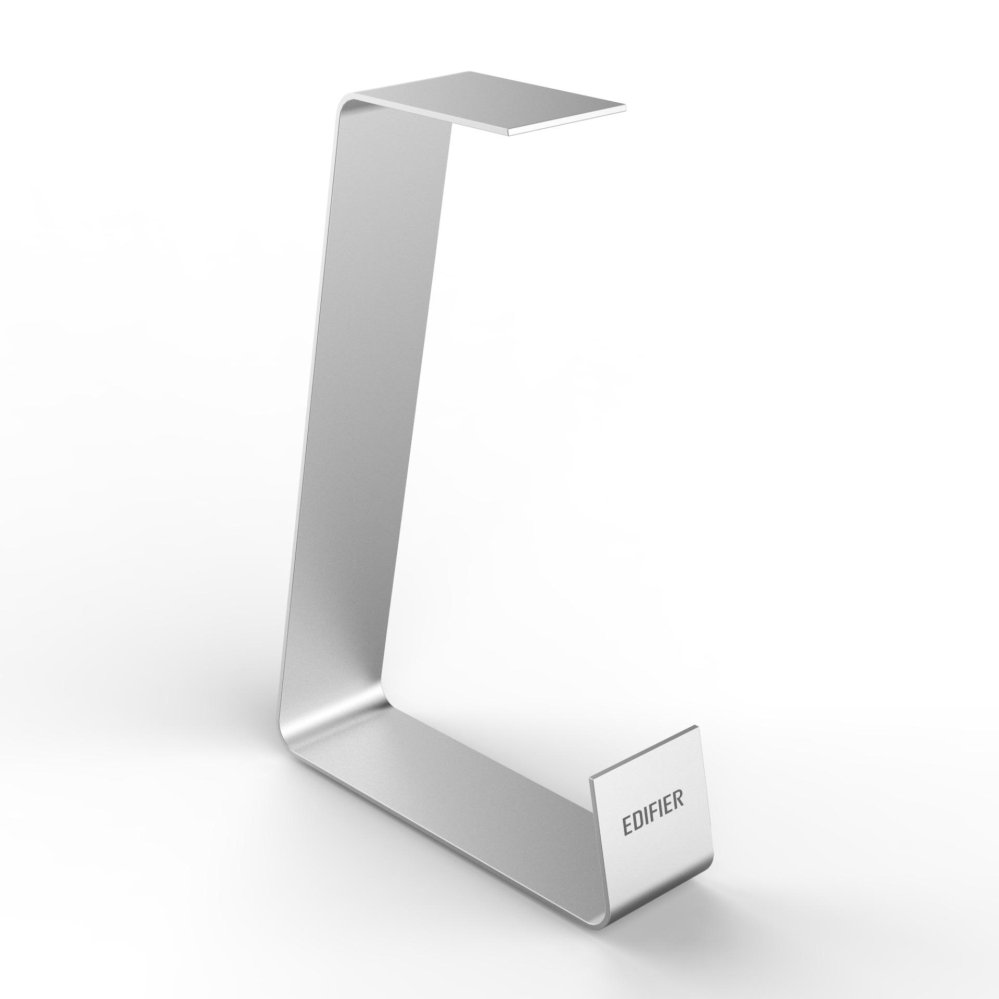 Edifier, ED041, Headphone, Stand, -, Silver, (Full, Aluminium,