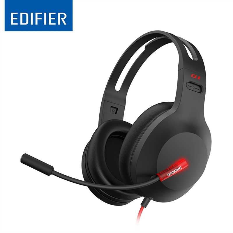 Edifier, G1, USB, Professional, Gaming, Headset, with, Microphone, -, Noise, Cancelling, Microphone, LED, lights, -, Ideal, for, PUBG,