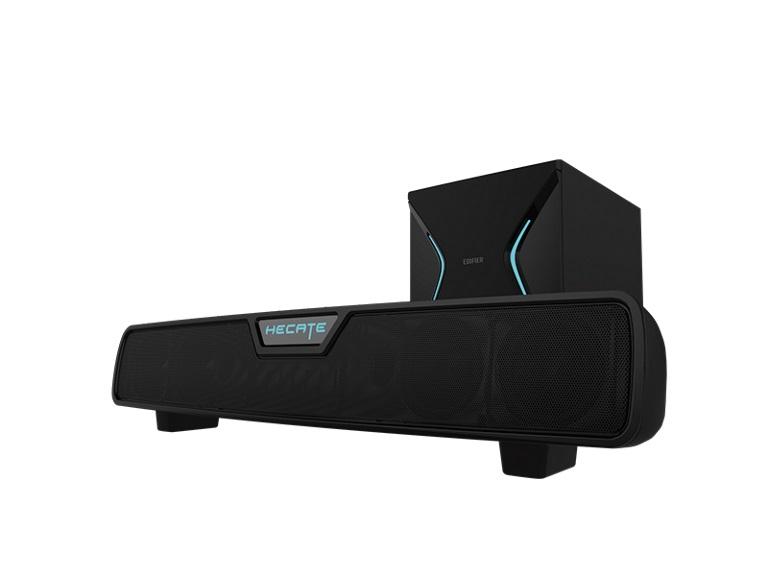 Edifier, G7000, DTS, Surround, Sound, Wireless, Subwoofer, Gaming, Speakers, -BT/Black/DTS, Surround, Sound/RGB/5.8Ghz, Wireless, Sub,