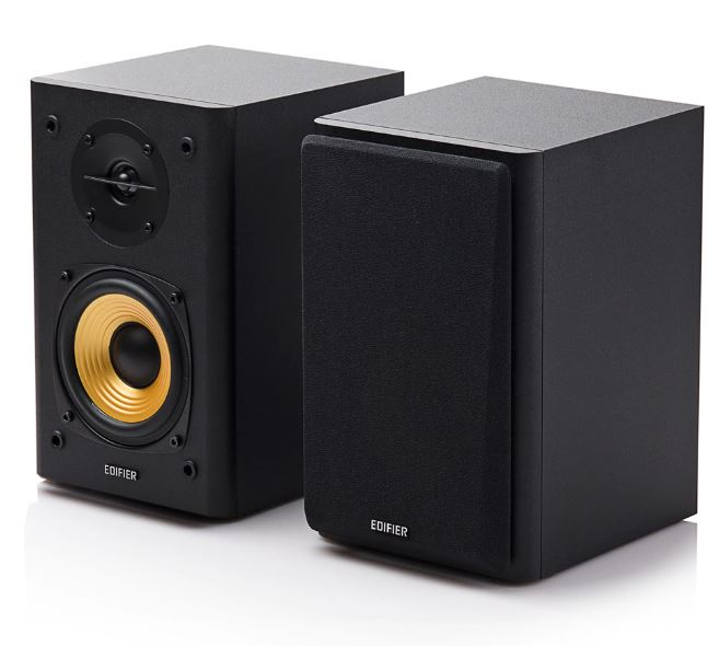 Edifier, R1000T4, Ultra-Stylish, Active, Bookself, Speaker, -, Uncompromising, Sound, Quality, for, Home, Entertainment, Theatre, -, 4i,