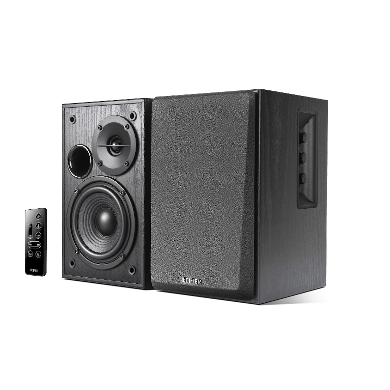 Edifier, R1580MB, -, 2.0, Lifestyle, Active, Bookshelf, Bluetooth, Studio, Speakers, Black, -, BT/AUX/Dual, Mic, 42W,