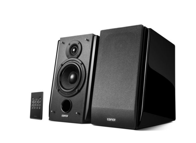 Edifier, R1850DB, Active, 2.0, Bookshelf, Speakers, -, Includes, Bluetooth, Optical, Inputs, Subwoofer, Supported, Built-in, Amplif,