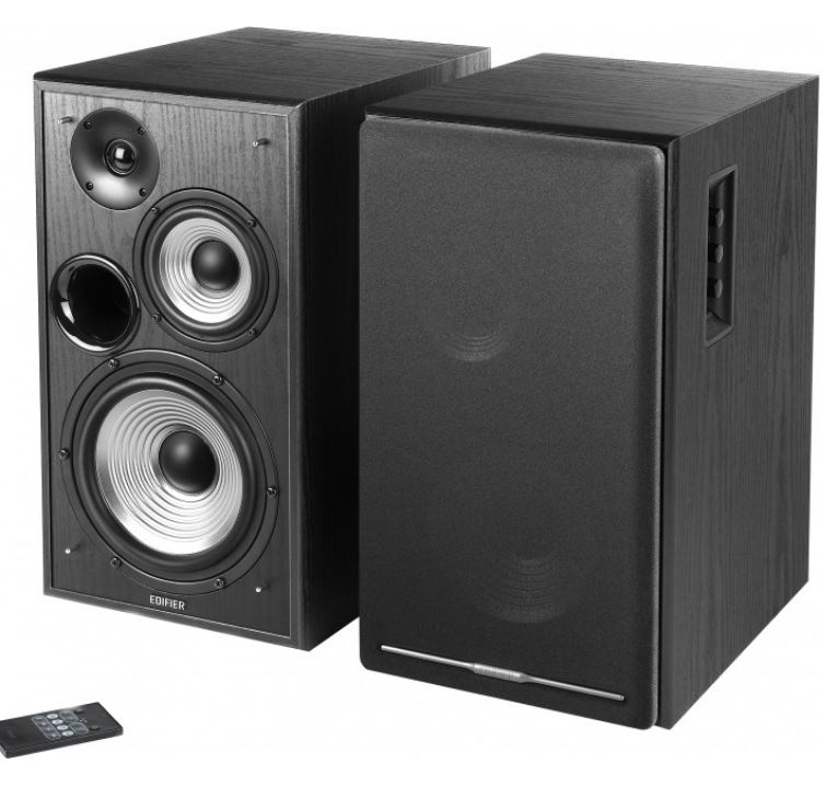 Edifier, R2750DB, Active, 2.0, Speaker, System, with, Sophisticated, Sound, in, a, Tri-amp, Audio, -, Bluetooth, Connection, 1/2inch, Bas,