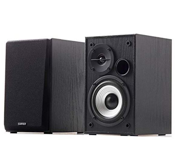 Edifier, R980T, Powered, 2.0, Bookshelf, Speakers, -, Studio-Quality, Sound, with, Dual, RCA, Input, Suitable, for, Desktops, Laptops,