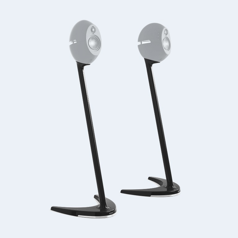 Edifier, SS01C, Speaker, Stands, Black, -, Compatible, with, E25, E25HD, &, E235,