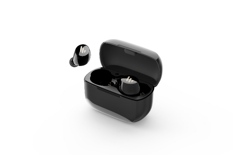 Edifier, TWS1, Bluetooth, Wireless, Earbuds, -, BLACK/Dual, BT, Connectivity/Wireless, Charging, Case/12, hr, playtime/9, hr, Charge/8,