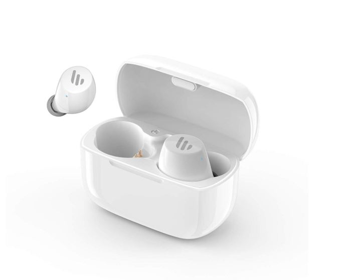 Edifier, TWS1, Bluetooth, Wireless, Earbuds, -, WHITE/Dual, BT, Connectivity/Wireless, Charging, Case/12, hr, playtime/9, hr, Charge/8,