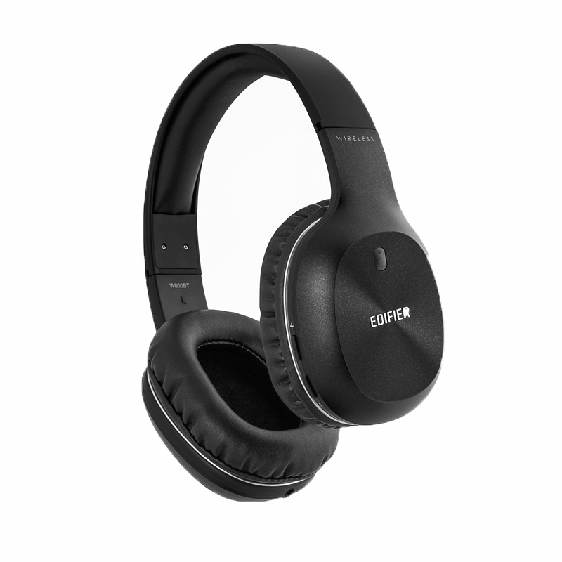Edifier, W800BT, Bluetooth, Over, the, Ear, Wireless, Headphone, Black, -, Wireless, BT, 4.0/Long, 35hr, Battery, Life/40mm, Drivers,