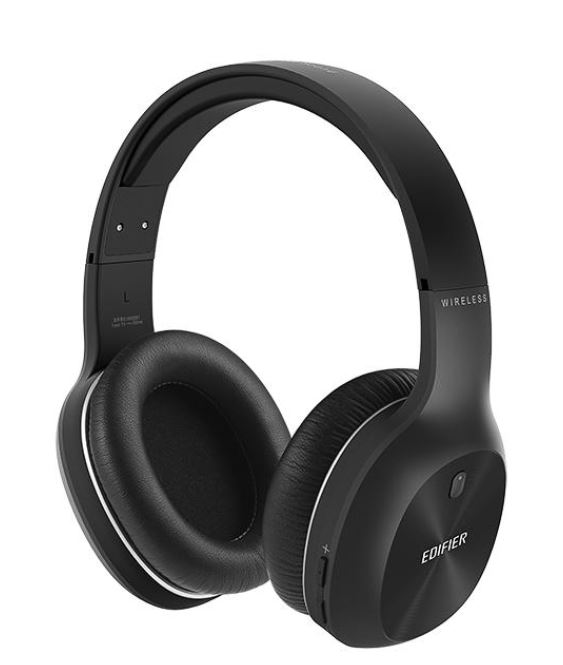 Edifier, W800BT, PLUS, Bluetooth, Over, the, Ear, Wireless, Headphone, Black, -, Wireless, BT, 5.1/Long, 50hr, Battery, Life/40mm, Driver,