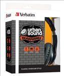 Verbatim, OVER-EAR, CLASSIC, AUDIO, HEADPHONES, -, BLAC,