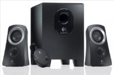 Logitech, Z313, Speakers, 2.1, 2.1, Stereo, Compact, Subwoofer, Rich, sound, Simple, setup, Easy, controls,