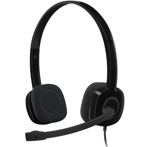 Logitech, H151, Single-pin, Stereo, Headset,