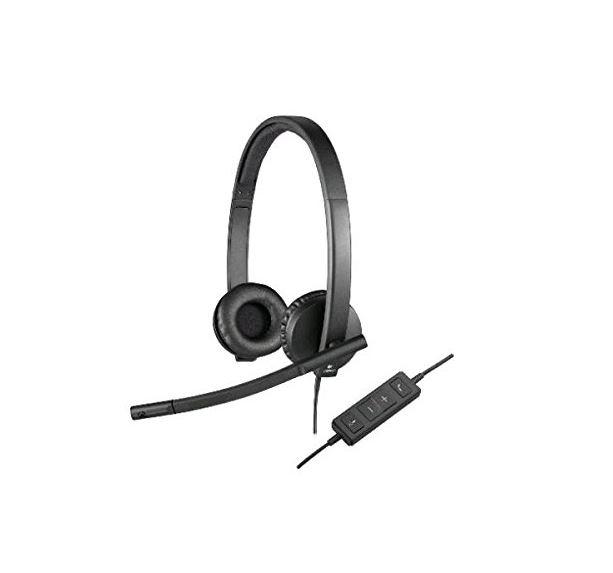 Logitech, H570E, USB, Headset, Stereo,
