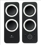 Logitech, Z200, 2.0, Speakers, 10W, RMS/3.5mm, Jack/2YR, Wty, Rich, stereo, sound, Adjustable, bass,