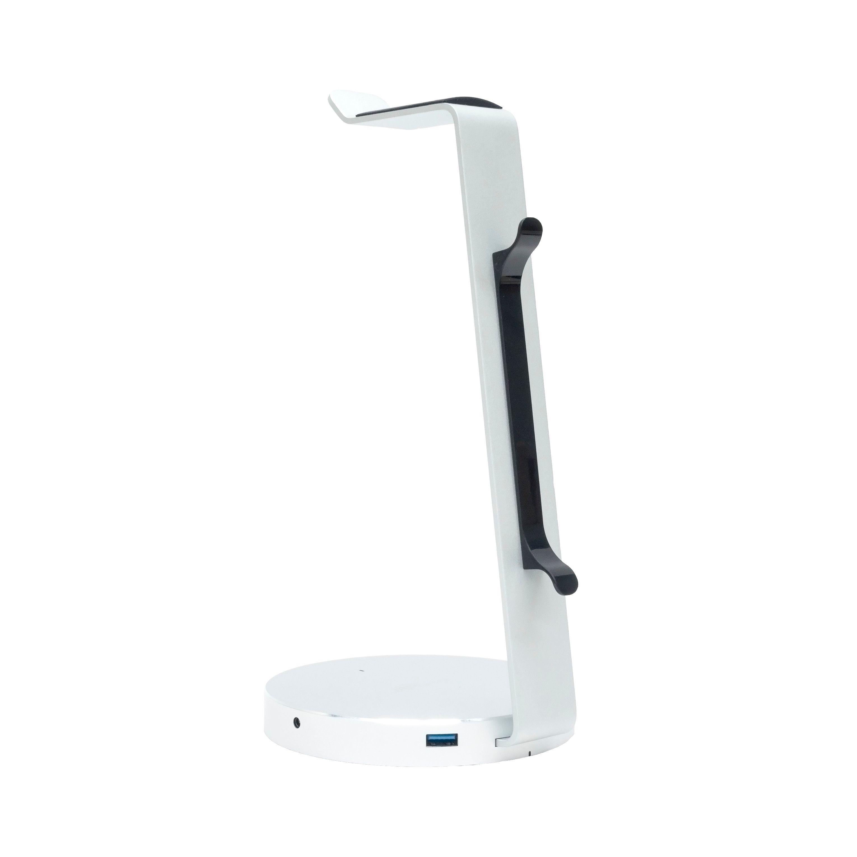 mbeat, ZACK, Aluminium, Headphone, Stand, with, 3.0, Hub, and, Audio, -, 4xUSB, 3.0, 1x, 3.5mm, Audio, Jack, &, Mic/Data, Transfer, 5Ghps,
