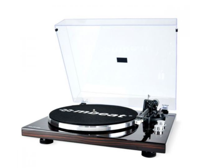 mbeat®, PT-18K, Bluetooth, Turntable, Player, (MMC, USB, Anti-skating, Preamplifier),
