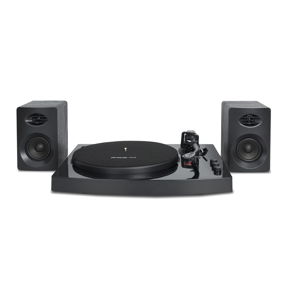 mbeat®, Pro-M, Bluetooth, Stereo, Turntable, System, (Black),