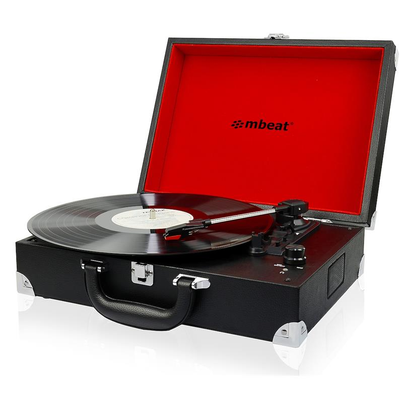 mbeat®Retro, Briefcase-styled, USB, Turntable, Recorder,