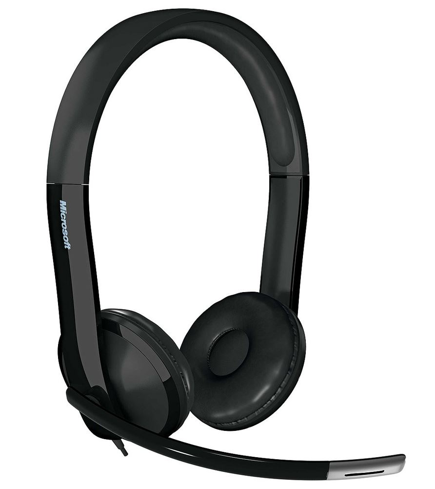 Microsoft, MS, LIFECHAT, LX-6000, WIRED, HEADSET, FOR, BI,