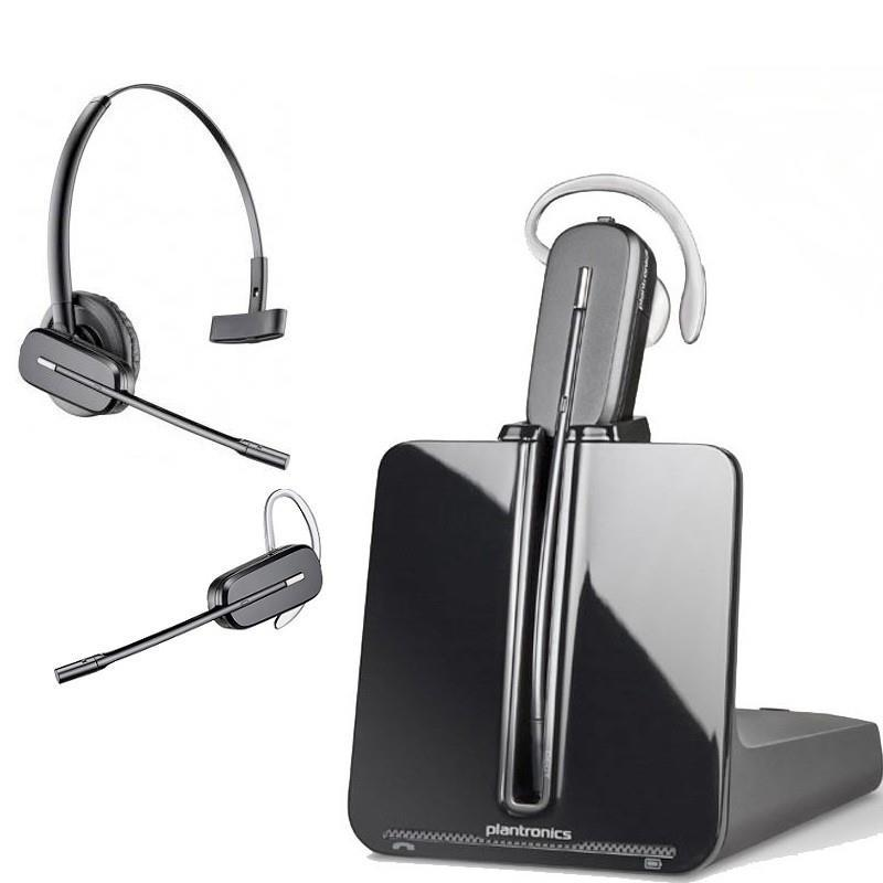 Plantronics, CS540, DECT, Headset, Convertible, Wireless, CS500T,