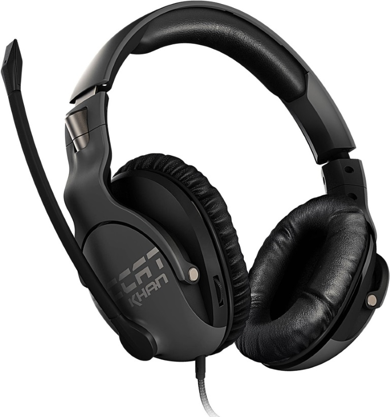 Roccat, KHAN, PRO, Competitive, High, Resolution, Gaming, Headset, (Grey, Version),