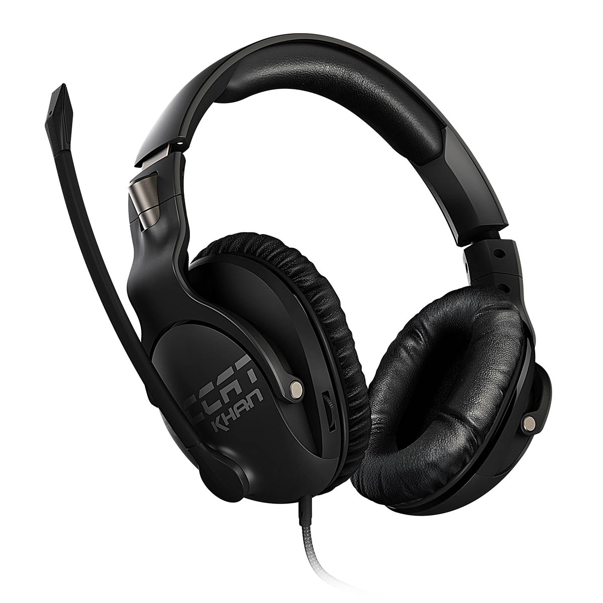 Roccat, KHAN, PRO, Competitive, High, Resolution, Gaming, Headset, (Black, Version),