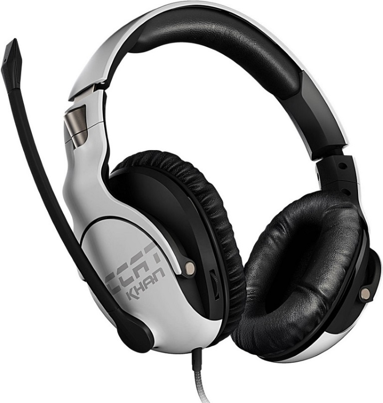 Roccat, KHAN, PRO, Competitive, High, Resolution, Gaming, Headset, (White, Version),