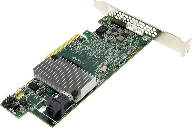 INTEL, FULL, FEATURE, RAID, PCIe, AIC, 12G, SAS/SATA, 4x, INTERNAL, PORTS, (MR), SF8643,