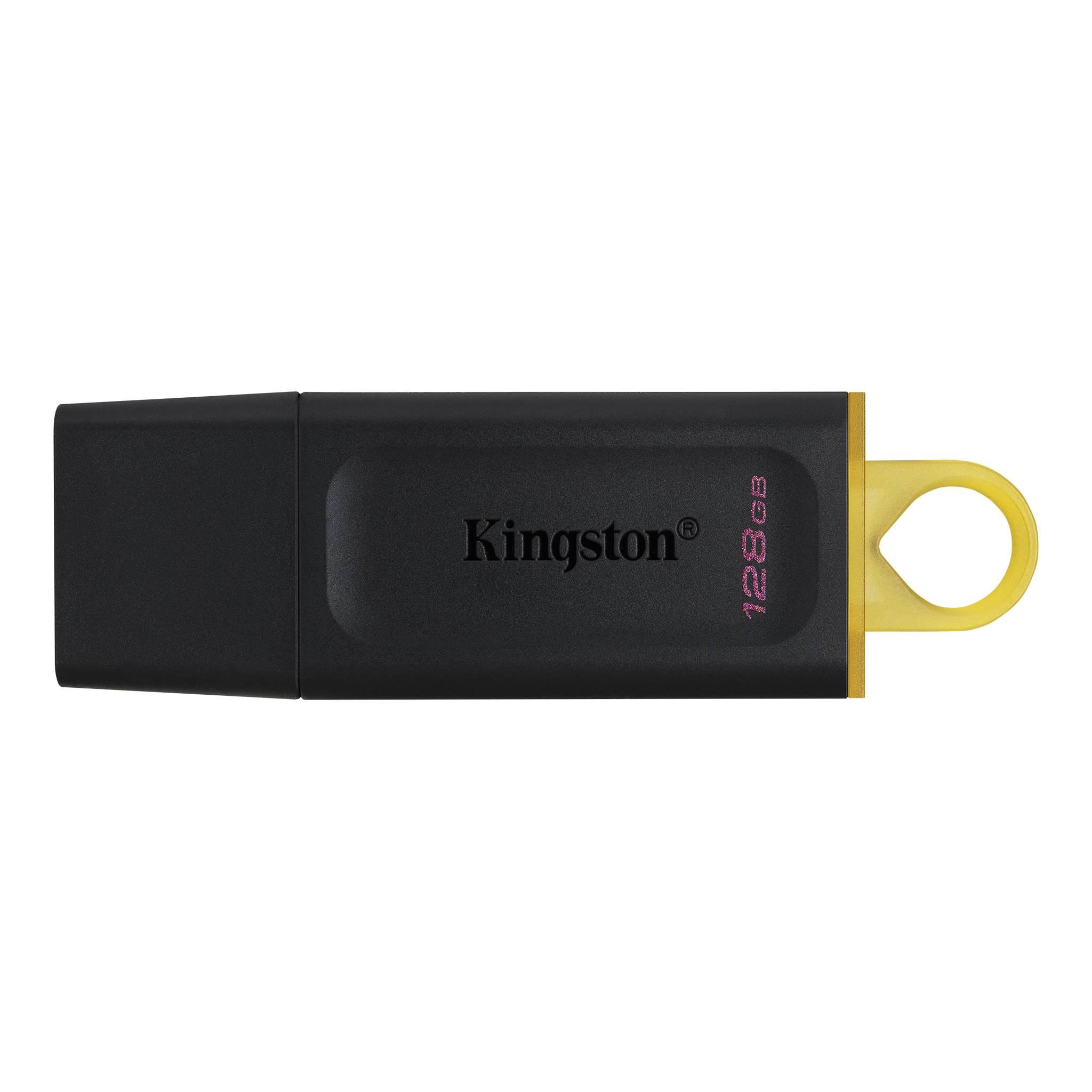 Kingston, 128GB, USB3.0, Flash, Drive, Memory, Stick, Thumb, Key, DataTraveler, DT100G3, Retail, Pack, 5yrs, warranty, ~USK-DT100G3-128,