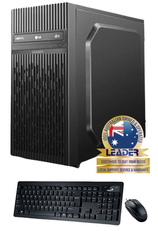 Leader, Visionary, 5560, Desktop, Intel, i5-11400, CPU, 8GB, 240GB, SSD, Window, 10, Home, 1, year, Onsite, Warranty, DVD, 450W, PSU,