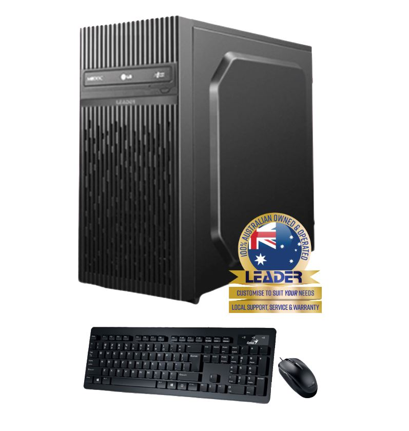 Leader, Visionary, 6050, Desktop, AMD, Ryzen, 5, 3500X, CPU, 8GB, 2GB, Nvidia, GT1030, Graphics, 500GB, SSD, Win10, 1, year, Warranty,
