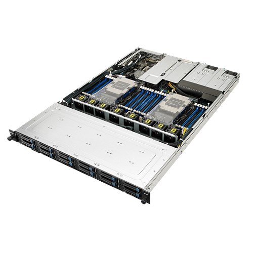ASUS, RS700-E9, High, Performance, 1U, Barebone, Server, Dual, Socket, Scalable, Xeon, 24, x, DIMM, 12, x, 2.5, Hotswap, Bays, 800w, RP,