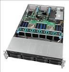 Intel, 2U, Rackmount, Server, Intel, Xeon, Silver, 4110, (1/2), 8x, 2.5, /3.5, HDD, 32GB, DDR4, ECC, (1/24), 2x, 10GbE, 1100W, PSU, (,