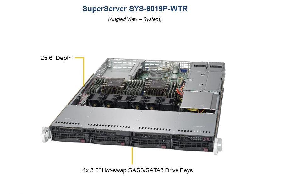 BizCor, 1RU, Workstation, Xeon, Silver, 4110, (1/2), 32GB, RDIMM, (1/12), 4, x, 3.5, Disk, HS, 1, x, 512GB, M.2, 2, x, 1Gbe, 750W, RPSU, (,