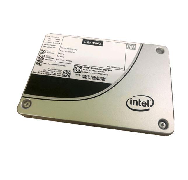 LENOVO, ThinkSystem, 3.5, Intel, S4510, 480GB, Entry, SATA, 6Gb, Hot, Swap, Solid, State, Drive, (SSD),