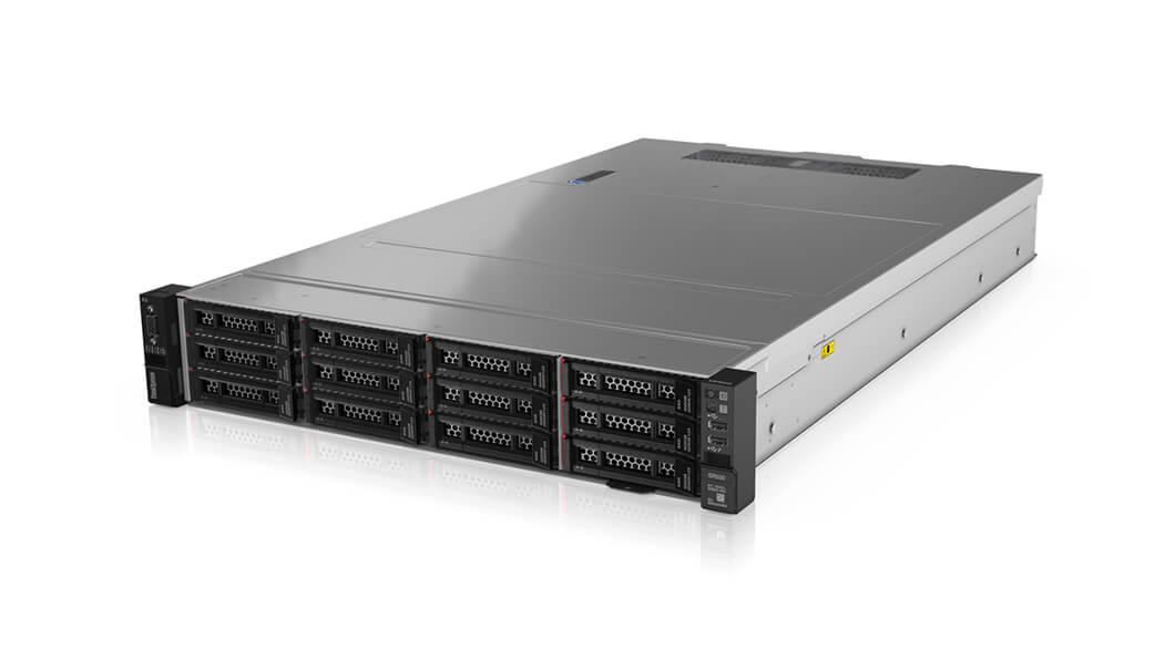ThinkSystem, SR550, 2U, Server, Xeon, 4208, 1x16GB, 12, x, LFF, HS, Bays, HW, RAID, 930-16i,
