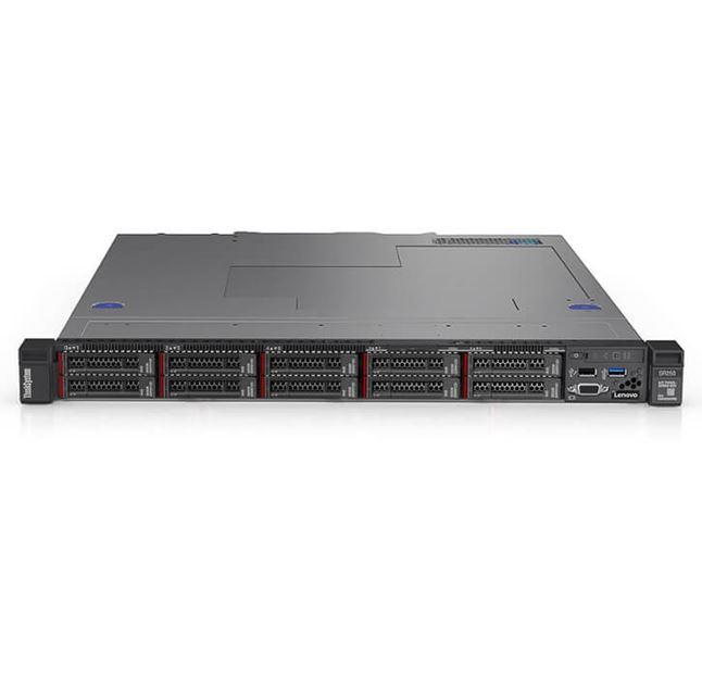 LENOVO, ThinkSystem, SR250, (1/1x, Xeon, E-2236, 6C/12T, 3.4GHz, 1/4x, 16GB, 8/8x, SFF, HS, Onboard, SW, RAID, 2x, 1GbE, XCC, Ent, 1/2,