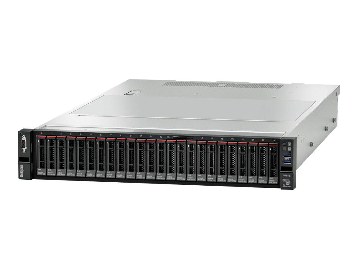 LENOVO, ThinkSystem, SR650, 2U, Rack, Server, 1x, Intel, Xeon, Silver, 4210, 1, x16GB, 2Rx8, 8, x, 3.5, HS, HD, Bays, HW, RAID, 930-8i, 1,