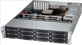 Supermicro, SuperServer, 6029P-E1CR12H, 2U, Rackmount, Dual, Socket, LGA3647, 16x, DIMM, 2, x, 10GBe, IMPI, 12, x, 3.5, HDD, HS,