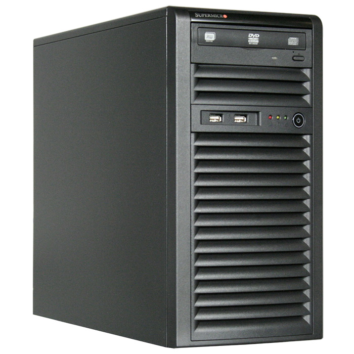 SuperMicro, SuperChassis, 731i-300B, Mini, Tower, Suits, Micro, ATX, MB, 2, x, Front, USB, 2.0, 2, x, 5.25, HDD, bays, 4, x, 3.5, HDD, B,