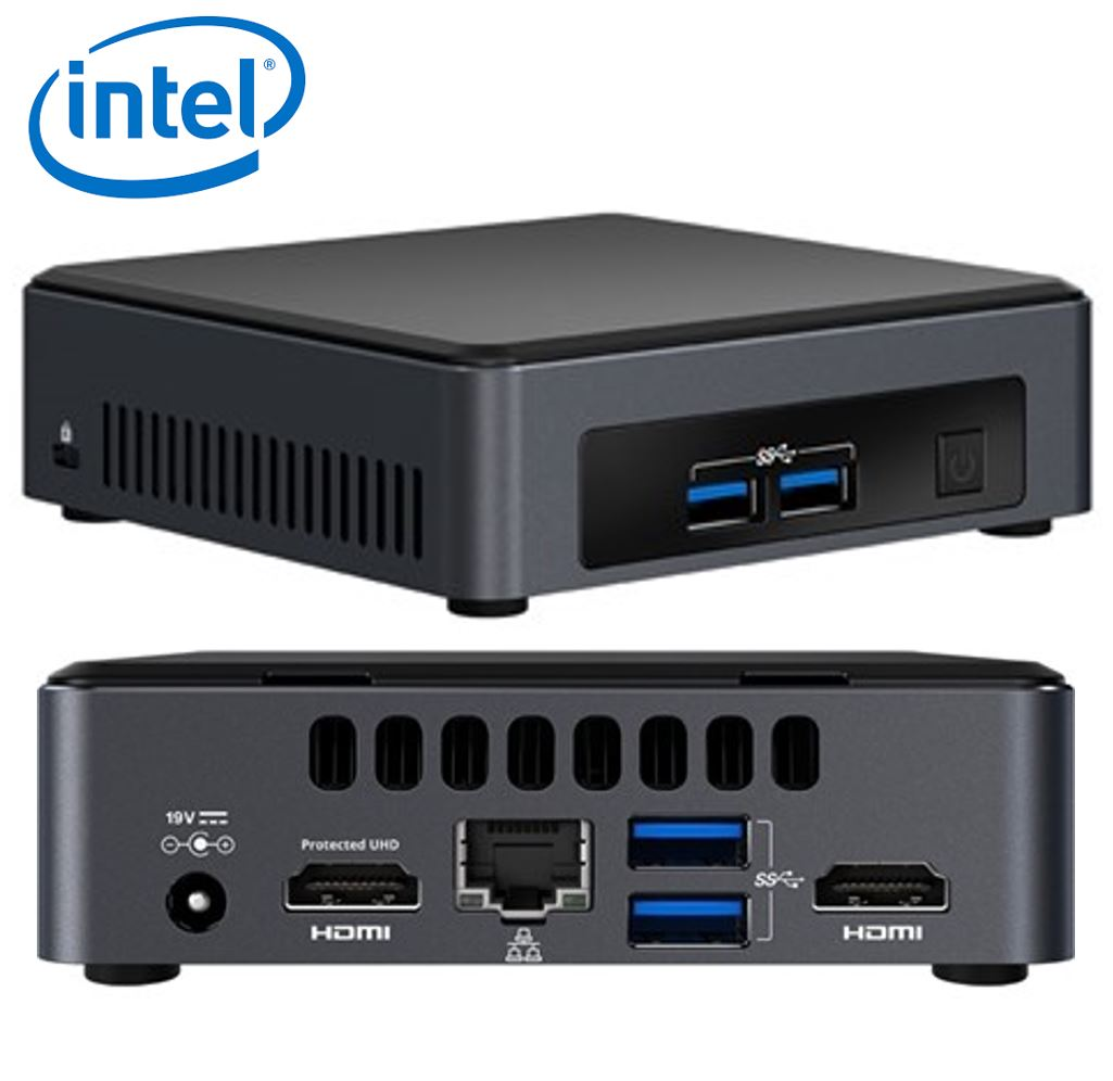 Intel, NUC, I3-7100U, SLIM, MINI, PC,