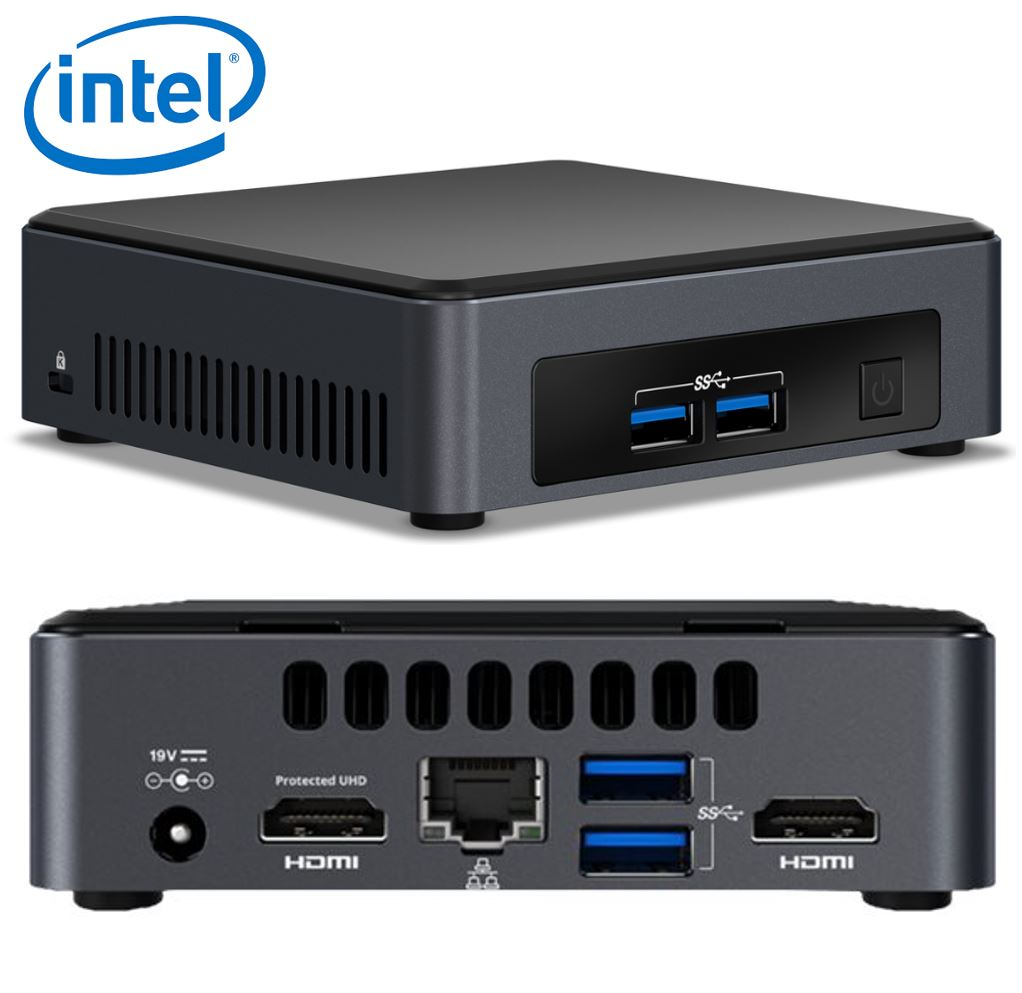 Intel, NUC, I5-7300U, SLIM, VPRO, MINI, PC,