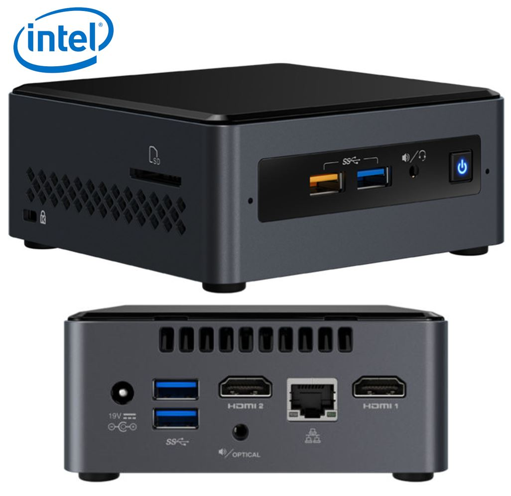 Intel, NUC7CJYH4, MINI, PC, DESKTOP, KIT,